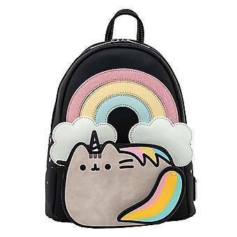 Loungefly Pusheen Mini Backpack Rainbow Unicorn new Official Black
