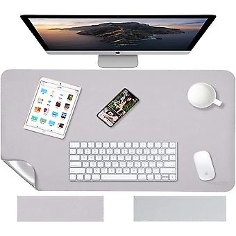 HanFei Multifunktionale doppelseitig Schreibtischunterlage, 80cm x 40cm PU-Leder Tischunterlage