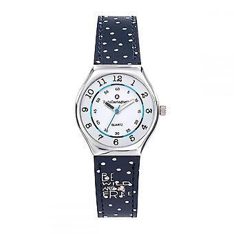 Watch Girl LuluCastagnette Mini Star blue bracelet 'apos;Be wild and free-apos;- 38852