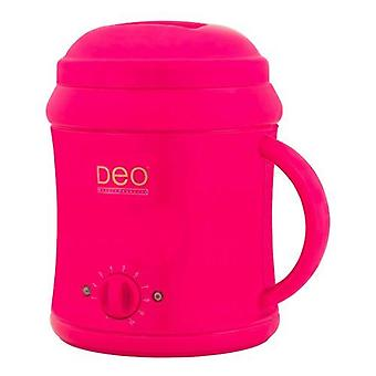 DEO Heater with 10 Settings for Warm Cream & Hot Wax Lotions - Pink - 1000cc