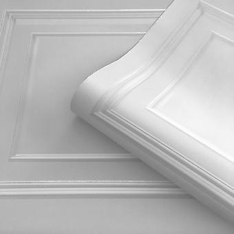 Soft Silver Amara Panel Wallpaper