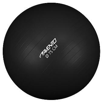 Avento Fitness-/Gymnastikball Durchm. 75 cm Schwarz