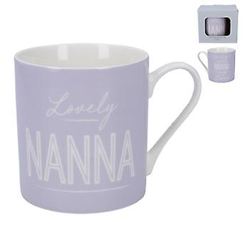 Gisela Graham Lovely Nanna Mug