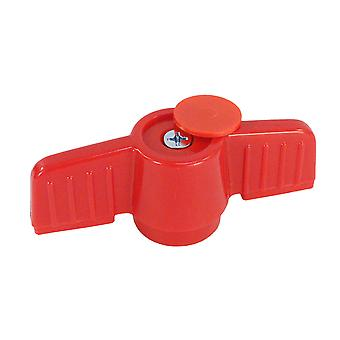 """American Granby  HMIP150HANDLE PVC Handle - Red for 1.5"""" Ball Valve"""