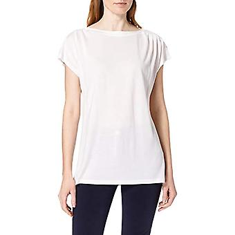 ESPRIT Collection 031EO1K303 T-Shirt, 110/white off, L Donna