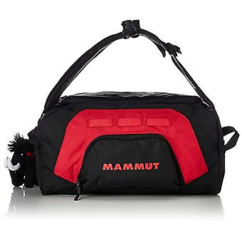 Mammoth First Cargo, Sports and Travel Bag. Unisex-Adult, Black (Black/Inferno), 27x23x40 centimeters (W x H x L)