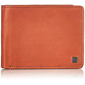 Quiksilver Travel Accessory - Three-Door Wallet, M, BROWN