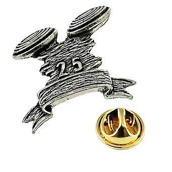 Ties Planet Clay Pigeon Shooting English Pewter Lapel Pin Badge