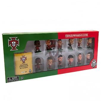 Portugal SoccerStarz Team Football Figurine Set (Pack of 12)
