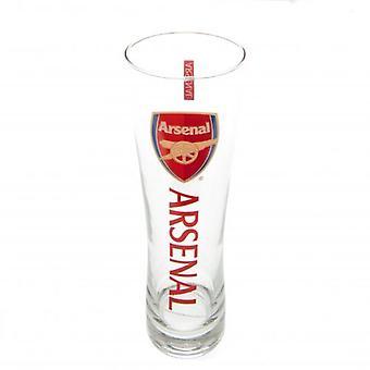 Arsenal FC pitkä olut lasi