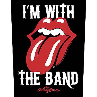 Rolling Stones - The - I'm with the Band Back Patch
