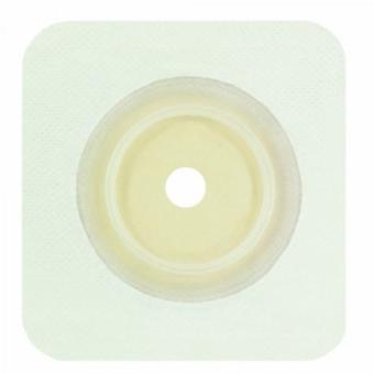 Genairex Ostomy Wafer, Up to 2-1/4 5 X 5 Inch, White, 10 Count