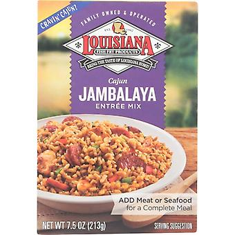 Louisiana Fish Fry Mix Jambalaya, Koffer van 12 X 7.5 Oz