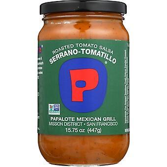 Papalote Salsa Salsa Rstd Tmto Srrno Tmt, Case of 12 X 15.75 Oz