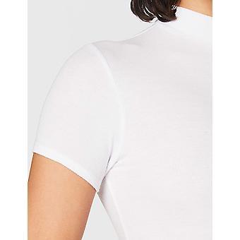 Brand - Meraki Women's Slim Fit High Neck T-Shirt