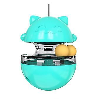 Food Treat Ball Bowl, Cartoon Flexible Pet Treat Dispenser
