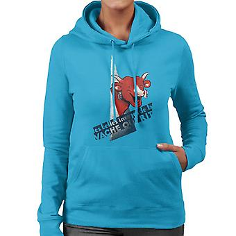 The Laughing Cow A Beautiful Image Women's Hooded Sweatshirt