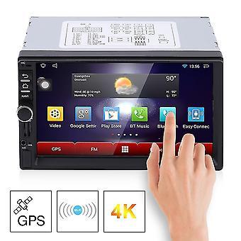 7 tommer hd kapacitive skærm 7 farverige lys bil dvd-afspiller europæiske kort