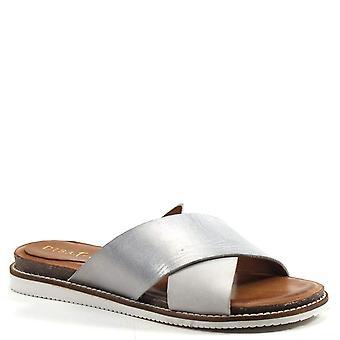 Diba True Free Dom Slip on Leather Sandal