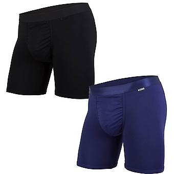 BN3TH 2-Pack Classic Boxer Brief - Black/Navy