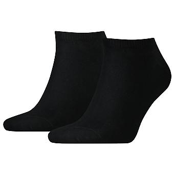 Tommy Hilfiger 2 Pack Sneaker Socks - Black