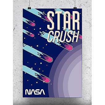 Stars And Meteorites Poster - NASA Designs