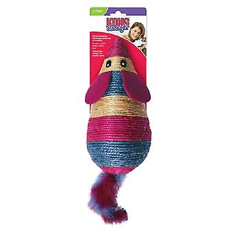 Kong wrangler scratch mouse cat toy
