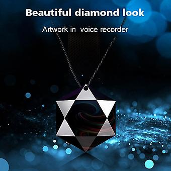 32 GB röstinspelare Mini aktiverad inspelning Dictaphone Micro Audio Sound Digital