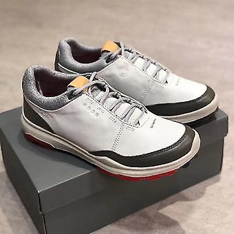 Chaussures de golf professionnelles décontractées en cuir véritable
