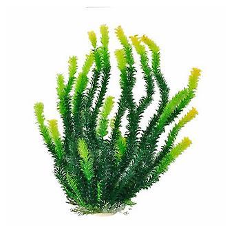 """Aquatop Green Aquarium Plant with Light Tips - 1 count (20""""H)"""