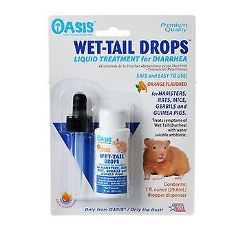 Oasis Malé zviera mokré chvostové kvapky - Liečba hnačky - 1 oz