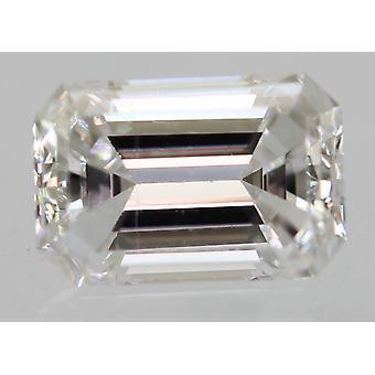 معتمد 0.23 قيراط D VS1 الزمرد تعزيز الماس فضفاضة الطبيعية 4.41x2.91m 2EX