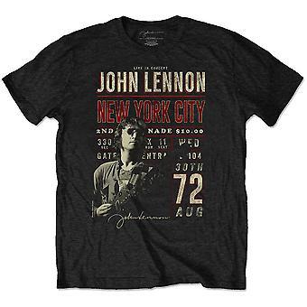 John lennon unisex eco t-shirt: nyc '72