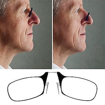 Mini Clip Nez Optique Portefeuille sans bord Lunettes de lecture Lunettes presbyopic