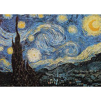 Tähtitaiva yö palapeli