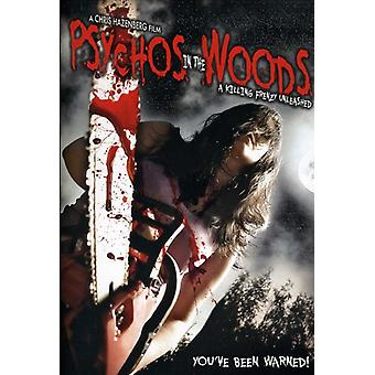 Psychos in the Woods: A Killing Frenzy Unleashed [DVD] USA import