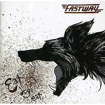 Fastway - Eat hund äter [CD] USA import