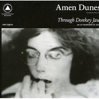 Amen Dunes - Through Donkey Jaw [CD] USA import