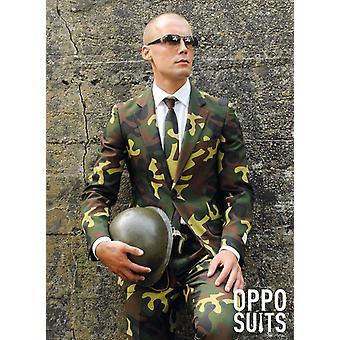 Répondre à militaire 3 pièces premium UE tailles Camo soldat commando slimline masculine