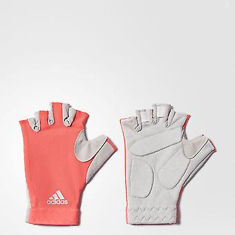 ADIDAS climacool womens fitness gloves [pink]