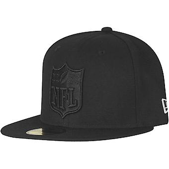 New Era 59Fifty Fitted Cap - NFL SHIELD Logo schwarz