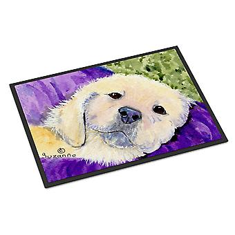 Carolines Treasures  SS8715MAT Golden Retriever Indoor Outdoor Mat 18x27 Doormat