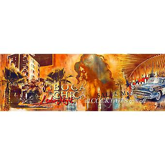 Havana Club Poster Print by Michael Tarin