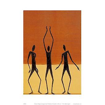 ריקוד עם שחר הדפס פוסטר על ידי ברנבי מנאייג ' (12 x 16)