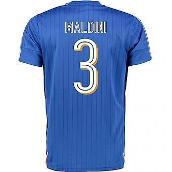 2016-2017 Italia Puma Inicio camisa (Maldini 3)