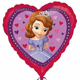 Anagram 18 Inch Disney Sofia The First Love Heart Shaped Foil Balloon