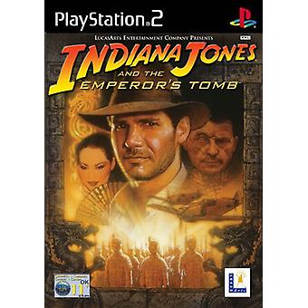 Indiana Jones  the Emperors Tomb (PS2) - New Factory Sealed