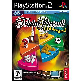 Trivial Pursuit Unhinged (PS2)-fabriken förseglad