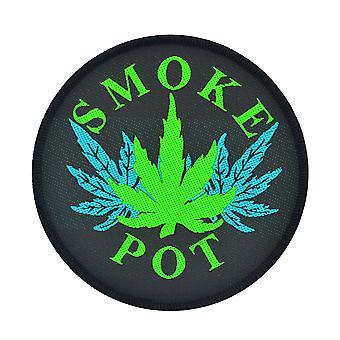 Smoke Pot Woven Patch