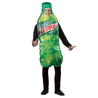Mountain Dew Get real sticla băutură răcoritoare Comical Partidul Mens costum de OS